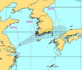 台風16号の米軍最新【進路予想】20140924.jpg